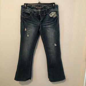 Refuge Knockout Skinny Boot Jeans